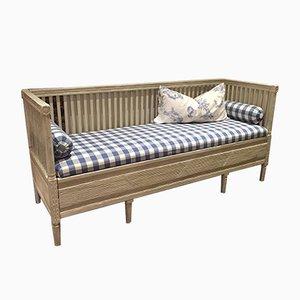 Swedish Gustavian Sofa with Fluting
