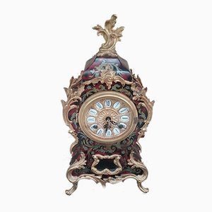 Antique French Rosewood Table Clock, 1900s