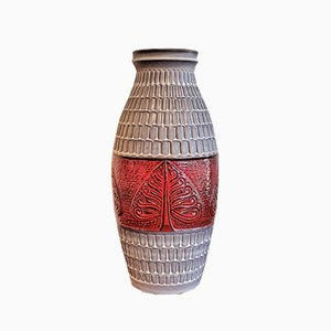 Large Nr. 995/60 Floor Vase from Bay Keramik, 1970s