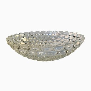 Large Vintage Crystal Bowl, 1970s