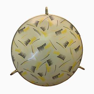 Mid-Century Deckenlampe von Erco, 1950er