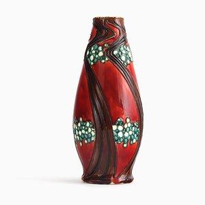 Antike Sezessionistische Vase von Leon Victor Solon für Minton, 1900er