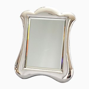 Art Nouveau English Silver Dressing Table Mirror from Lawrence Emanuel, 1900s
