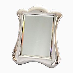 Jugendstil Silber Frisiertisch mit Spiegel von Lawrence Emanuel, 1900er