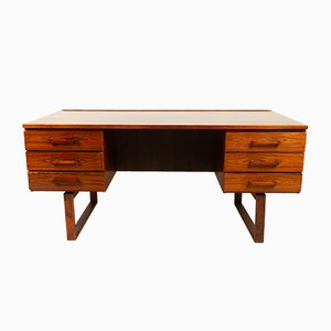 Danish Rosewood Desk by Henning Jensen & Torben Valeur for Munch Møbler, 1960s