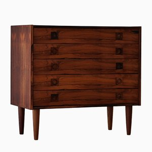 Vintage Rosewood Chest of Drawers, 1960s