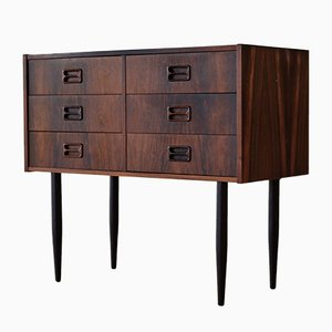 Vintage Rosewood Double Chest of Drawers, 1960s