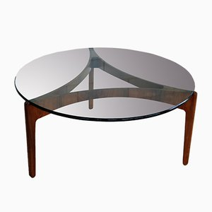 Vintage Coffee Table by Sven Ellekaer for Linneberg, 1960s