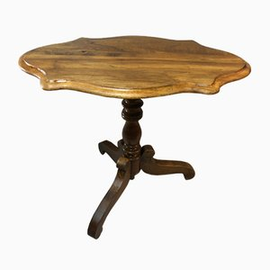 Louis Philippe Tripod Side Table