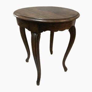 Louis XV Style Oak Side Table, 1940s
