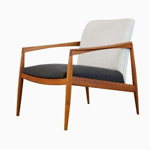 Danish Teak Armchair by Kai Kristiansen for Magnus Olesen