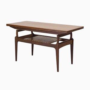 Mid-Century Danish Teak Metamorphic Coffee Table from BC Mobler, 1950s