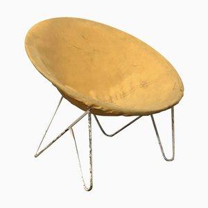 Weißer Hammock Chair im Stil von Ferrari & Hardoy, 1960er