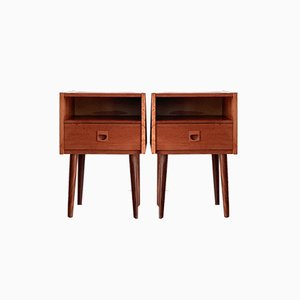 Mid-Century Danish Teak Cabinets from Brouer, 1960s, Set of 2