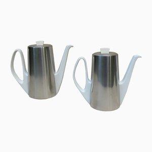 Mid-Century Kaffeekannen von WMF, 1960er, 2er Set