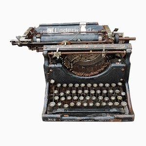 Antique Typewriter from Underwood