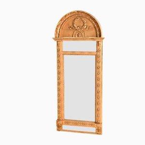 Gustavianische Kiefernholz Spiegel von Johann Martin Berg, 2er Set