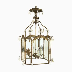 Antique French Ceiling Lamp, 1800s