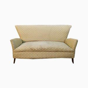 Mid-Century Sofa aus Stoff & Holz, Gio Ponti, 1960er