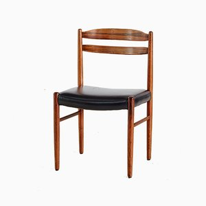 Mid-Century Rosewood Dining Chairs by Carl Ekström for Albin Johansson & Söner, 1960s, Set of 5