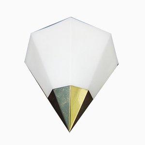 Vintage Triangular Sconces from Limburg, Set of 2