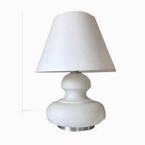 Lampe de Bureau Opaline, 1970s