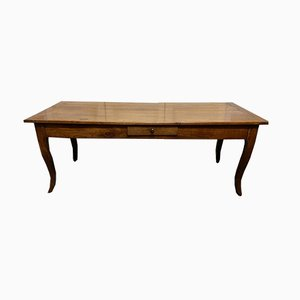 18th Century French Extendable Cherrywood Farmhouse Dining Table