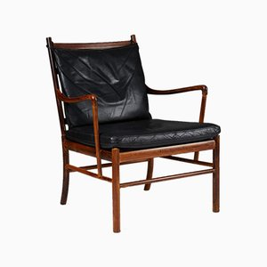 PJ 149 Colonial Armchair by Ole Wanscher for P. Jeppesen, Denmark, 1949