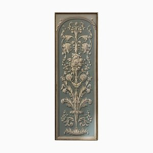 19th Century Hand-Painted Decorative Panel