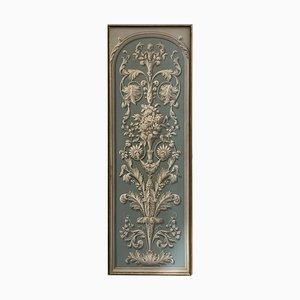 19th Century Hand-Painted Decorative Panel