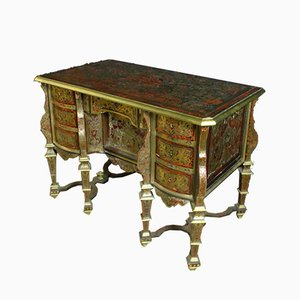 Antique Mazarin Desk in Marquetry Boulle