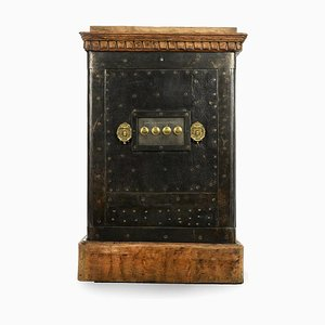 Safe in Metal, Brass & Wood, 1890s