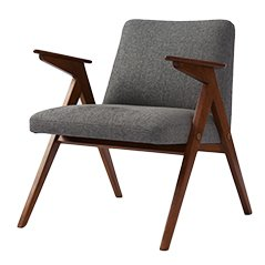 Grey Vintage Armchair