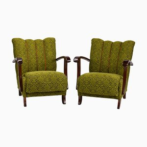B-970 Lounge Chairs from Thonet, 1920s, Set of 2