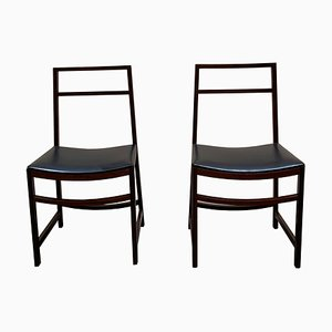 Mid-Century Rosewood Dining Chairs by Renato Venturi for MIM, 1960s, Set of 2