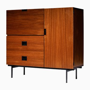 Teak Model CU01 Cabinet by Cees Braakman for Pastoe, 1950s
