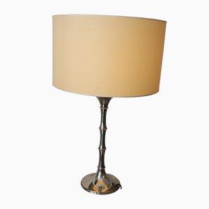 Lampe de Bureau Vintage en Bambou par Ingo Maurer, 1970s