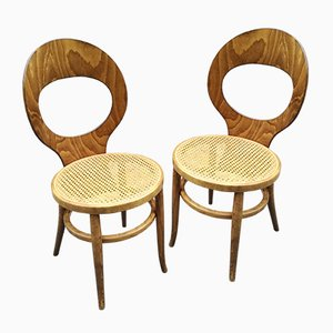 French Mouette Side Chairs from Baumann, 1960s, Set of 2