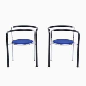 Postmodern Model Dark Horse Dining Chairs by Thygesen & Sørensen for Botium, 1980s, Set of 2