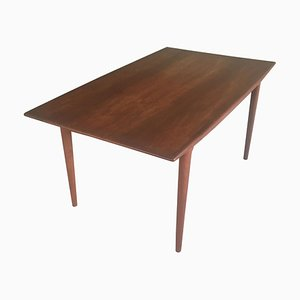 Danish Teak Extendable Dining Table by Alfred Christensen for Slagelse Mobler, 1950s