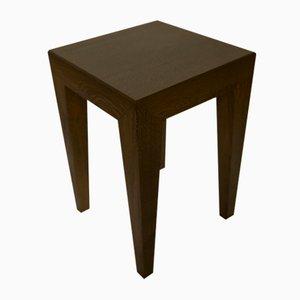 Tavolini antracite in quercia, anni '90, set di 2