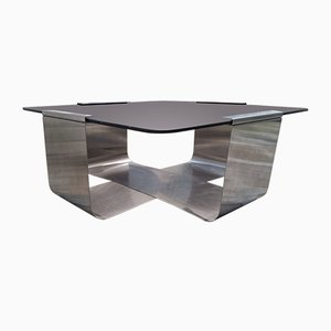 Vintage Coffee Table by Francois Monnet, 1970s