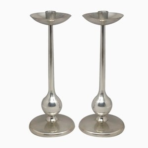 Space Age Candleholders, 1960s, Set of 2