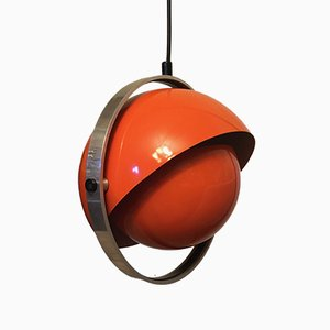 Space Age Moon Light Ceiling Lamp by Flemming Brylle und Preben Jacobsen for Quality System