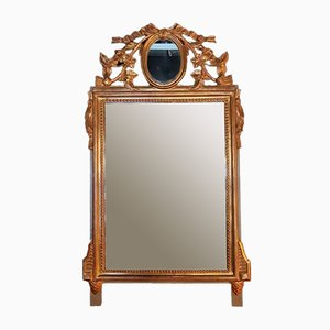 19th Century Rococo Style French Giltwood Mirror