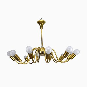 Large Vintage Chandelier by J. T. Kalmar for Kalmar, 1930s