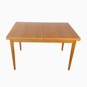 Vintage Czech Extendable Ash Dining Table from Jitona, 1960s