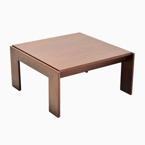 Italian Rosewood Bastiano Coffee Table by Tobia & Afra Scarpa for Gavina, 1968