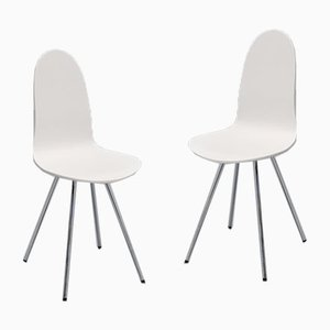 Tongue Chairs by Arne Jacobsen for Fritz Hansen, 1970s, Set of 2
