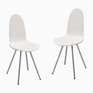 Tongue Stühle von Arne Jacobsen für Fritz Hansen, 1970er, 2er Set